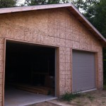 Garage en construction